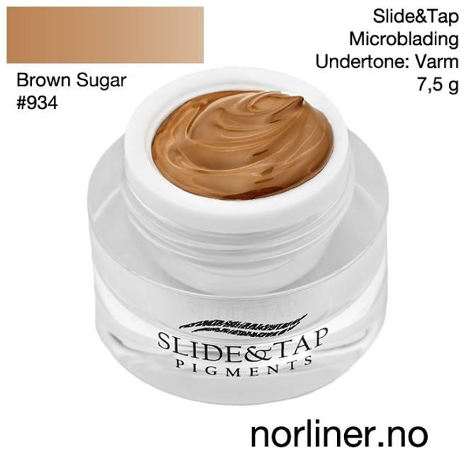 Bilde av LB-SLIDE&TAP #934 Brown Sugar 7,5g