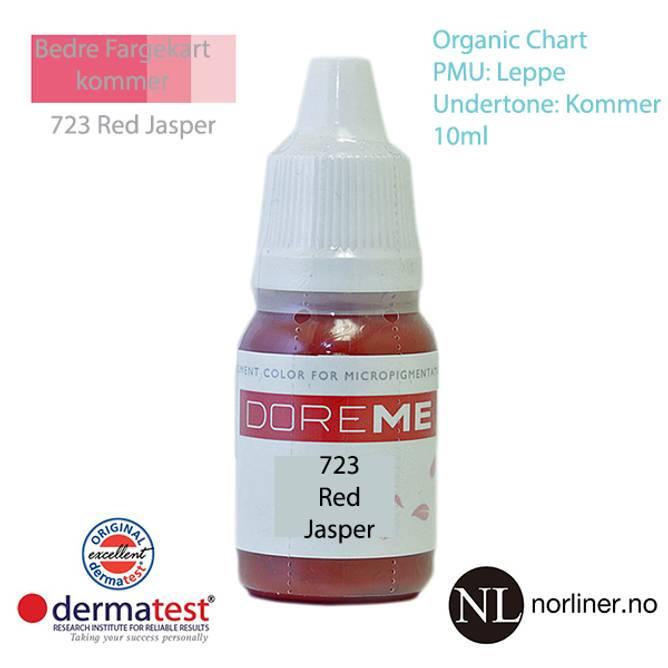 Bilde av MT-DOREME #723 Red Jasper PMU Leppe [Organic