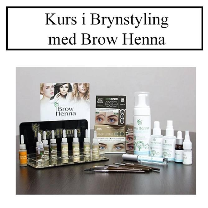Bilde av KURS: Brynstyling med Brow Henna Kit UTEN