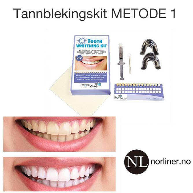 Bilde av TF-Tannbleking-KIT Metode-1