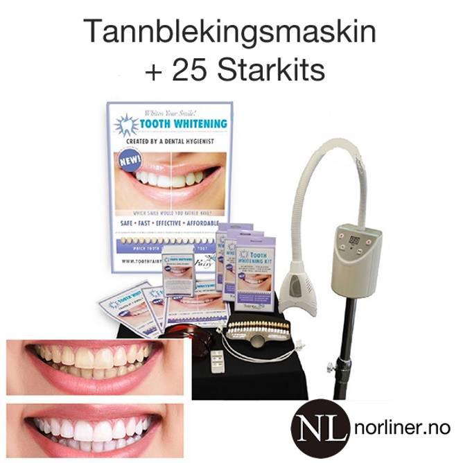 Bilde av TF-TannblekingsMASKIN + 25 startKITs +mm